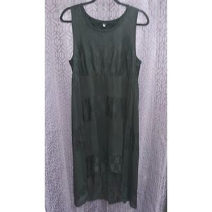 Women's size L Sleeveless Midi-Dress